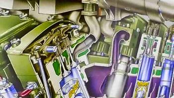ČEZ - animace dieselgeneratoru